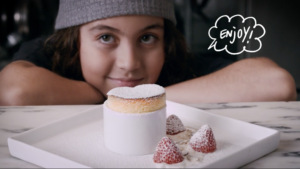 Jesse Gunn, 12-year-old chef and his Vanilla Soufflé